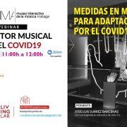 CICLO WEBINAR, EL SECTOR MUSICAL TRAS EL COVID19: Medidas en Museos  para Adaptación  por el COVID19