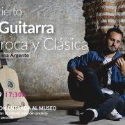 Concierto de guitarra barroca y clásica