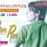 Cuentacuentos: PETER PAN de James Matthew Barrie (CANCELADO)