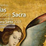 """Conciertos: """"Arias de Música Sacra con motivo de la Semana Santa 2019"""""""